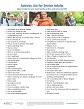 Activity List for Senior Adults