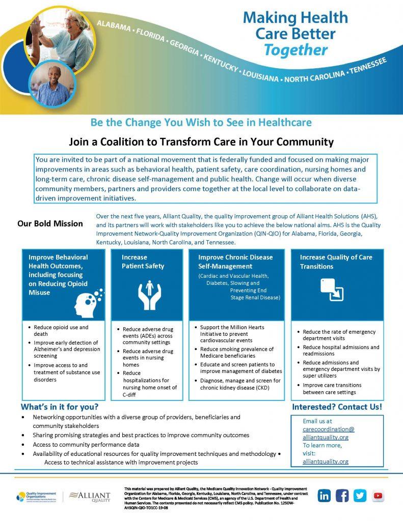 Coalition Flyer